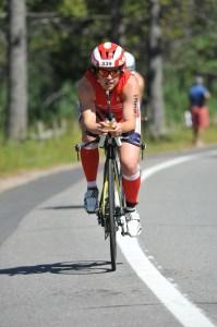 bike leg, Ironman, Adelle Isaacs