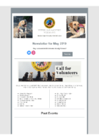 VMF – May 2019 Newsletter
