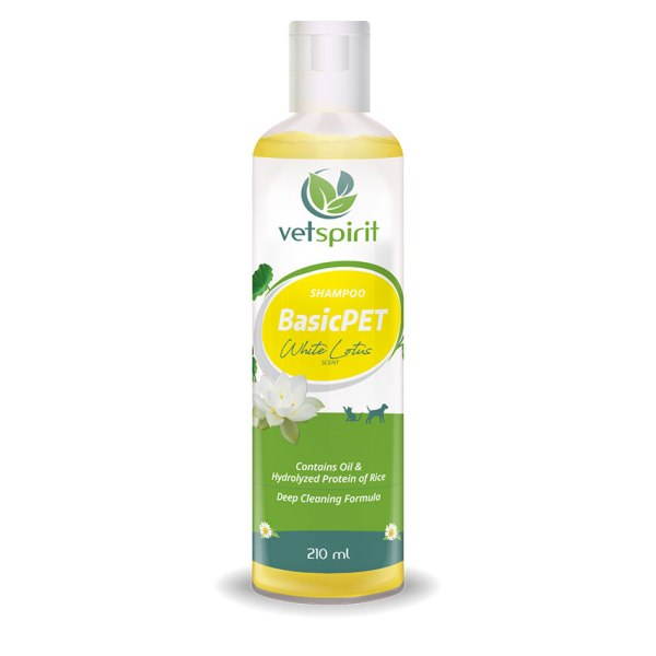 BasicPET Shampoo - White Lotus - 210 ml 1