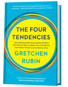 Bilde av boken The Four Tendencies.