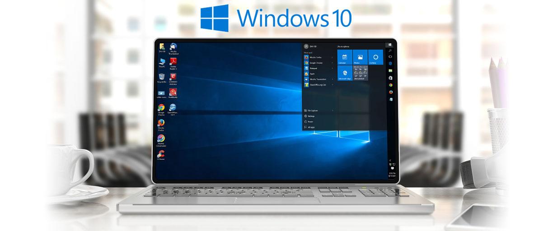 Laptop PC running Windows 10