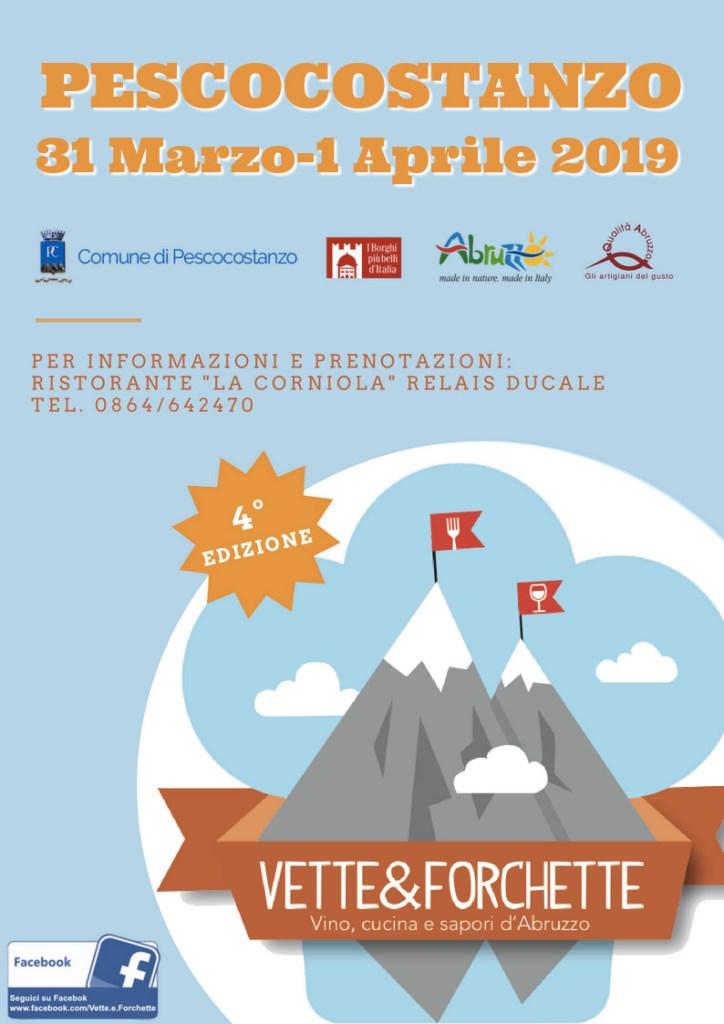 Vette e Forchette 2019 - Locandina
