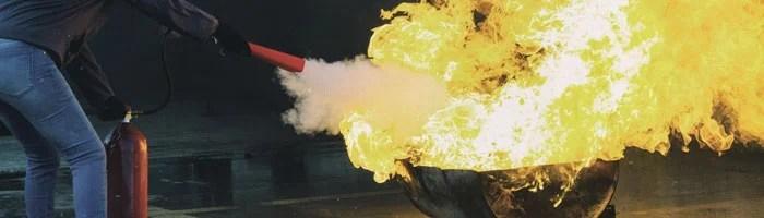 Cómo usar correctamente un extintor
