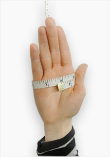 Measuring Hand Sizes