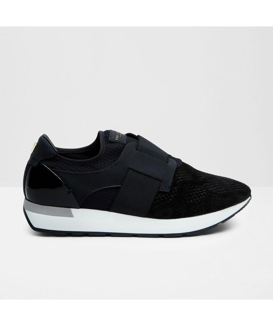 Suede Slip On Sneakers Womens