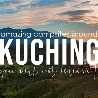 13 campsites near Kuching 2020