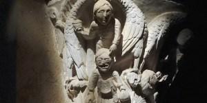 Basilique de Vézelay lecture de Chapiteau