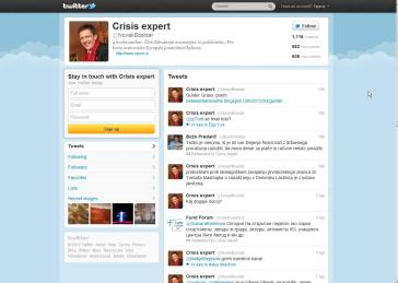 Novak tviter  pro bono svetovalec EPK
