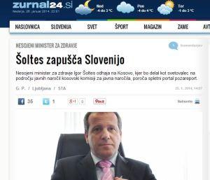 Šoltes Kosovo žurnal