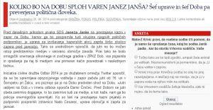 Politikis Janša Dob
