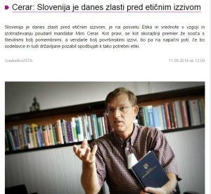 Cerar etični izziv Primorske