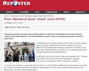 Sfukati Janša Masleša Reporter