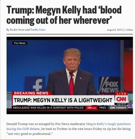 Trump blood
