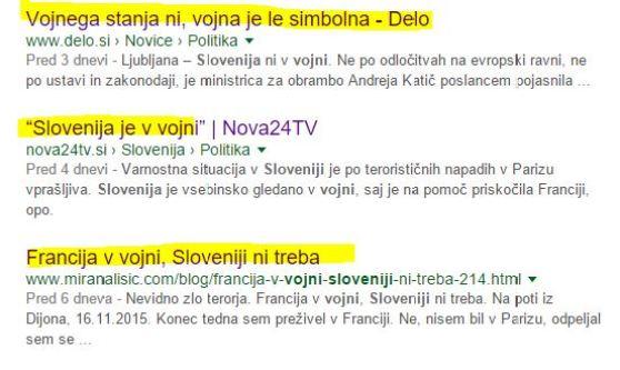 Slovenija v vojni google zadetki nadaljevanje 2