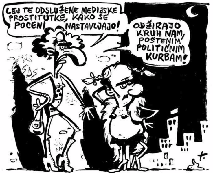 Lavrič Mladine politične in medijske prostitutke