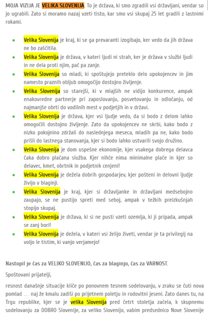 Velika Slovenija Zidanšek