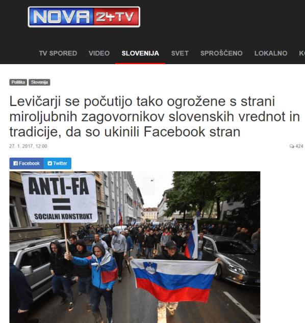 Ukinitev Nova Slovenija zavaruj meje