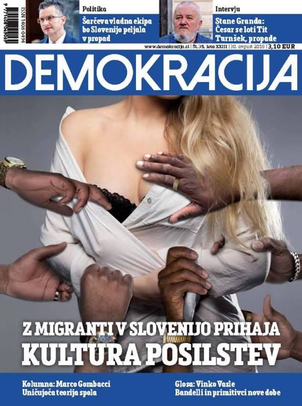Demokracija kultura posilstev migranti begunci
