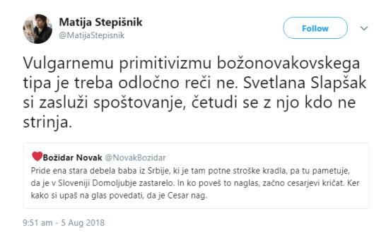 Stepišnik Božidar Novak Slapšak