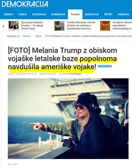 Melanija Demokracija
