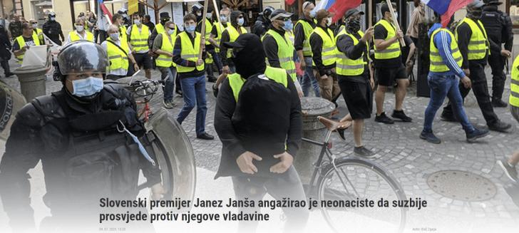 Janša neonacisti