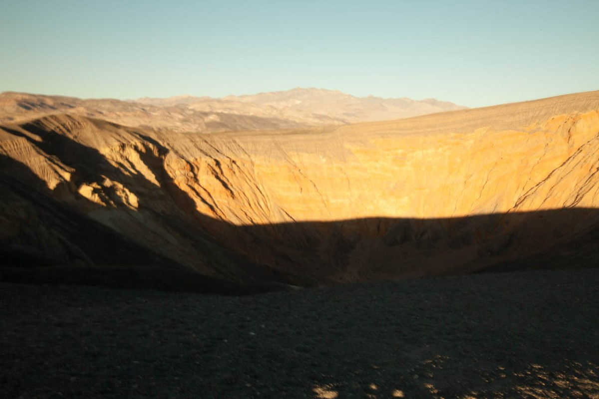 Death Valley California Ubehebe Crater