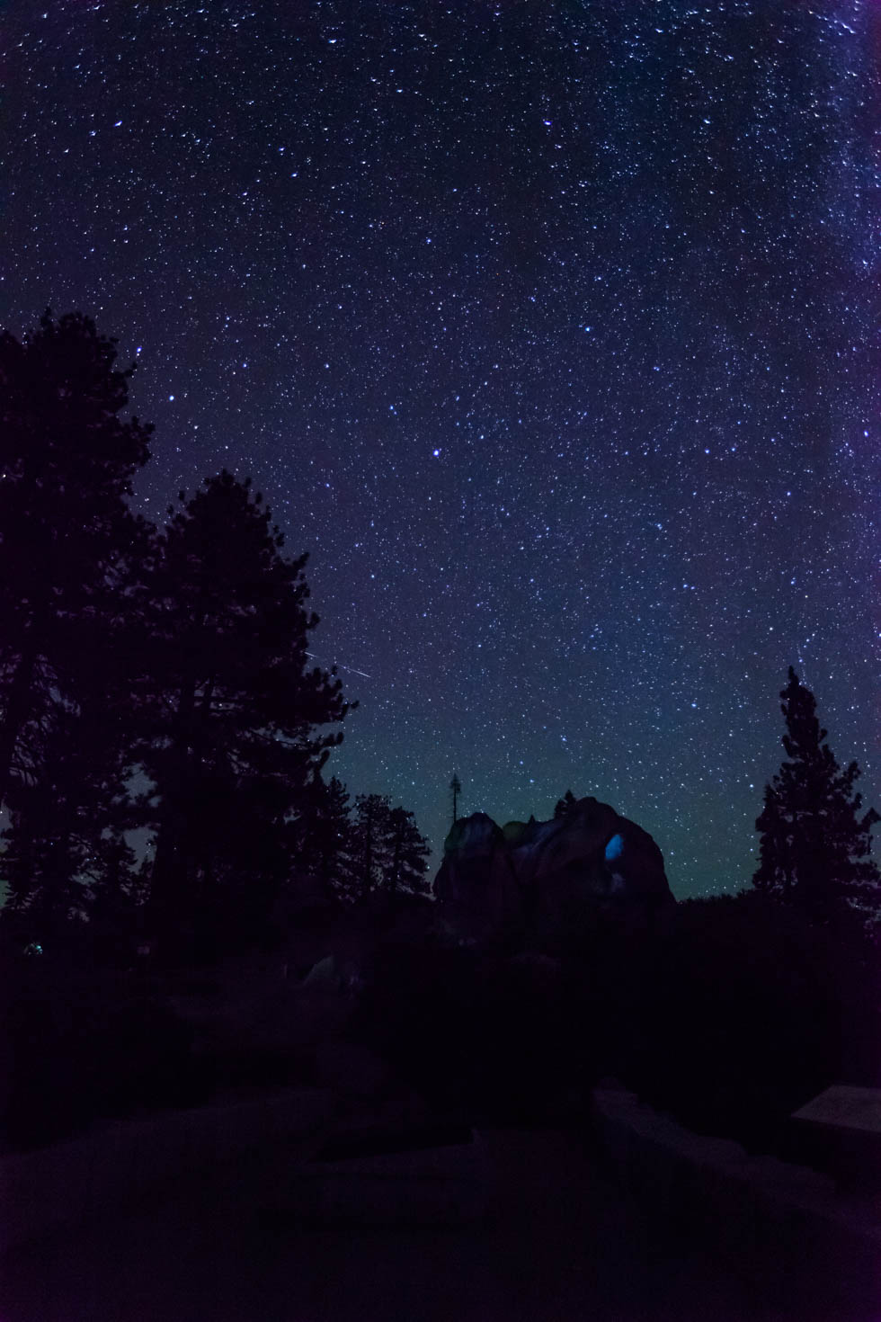 Night Sky, Glacier Point, Yosemite National Park