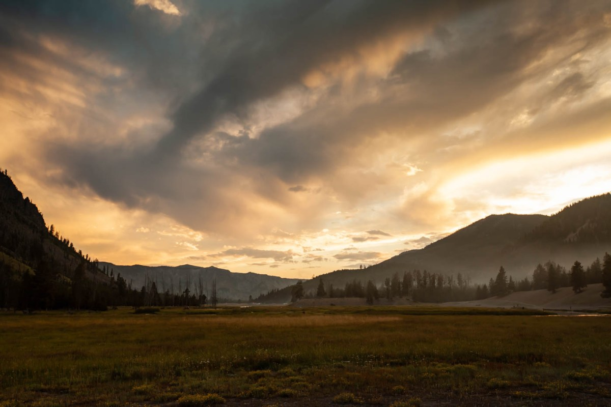 Madison Campground Yellowstone National Park #vezzaniphotography