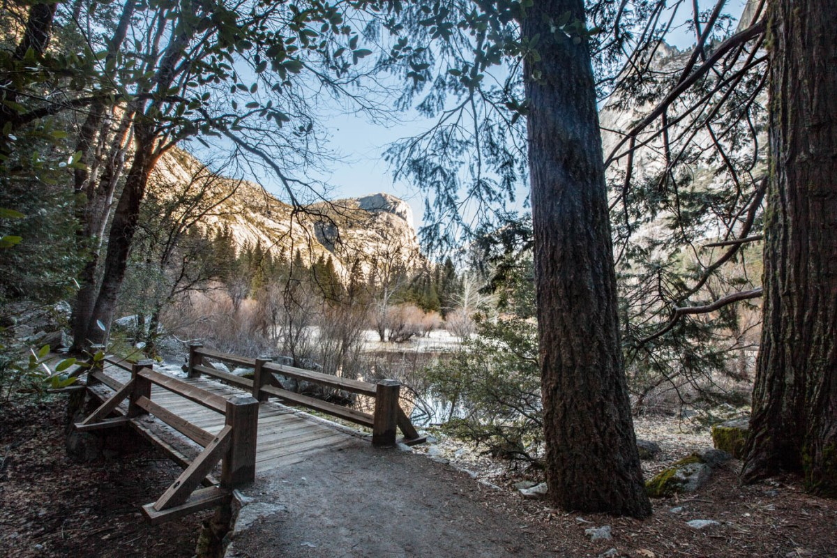Mount Watkin and the Mirror Lake Trail at Yosemite National Park #vezzaniphotography