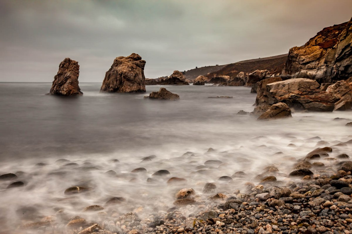 Big Sur Coastline, CA - How to Photograph Silky Waterfalls #vezzaniphotography