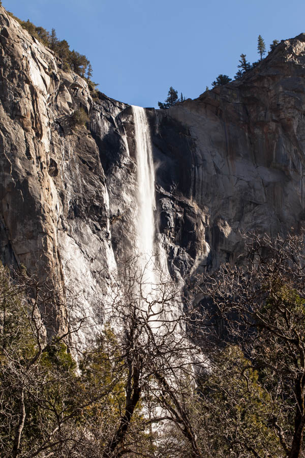 Bridal Veil Falls Best Photo Spots Yosemite National Park #vezzaniphotography