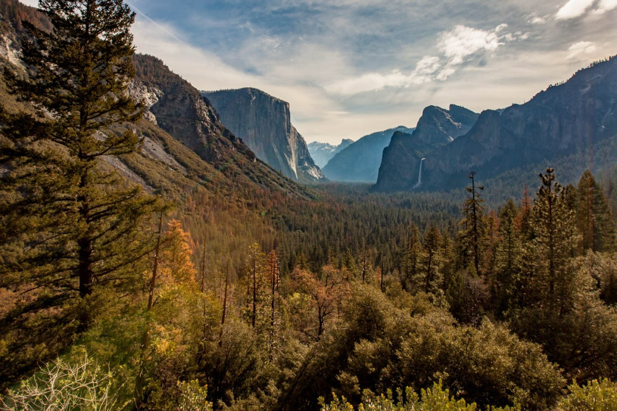 Tunnel View Best Photo Spots Yosemite National Park #vezzaniphotography