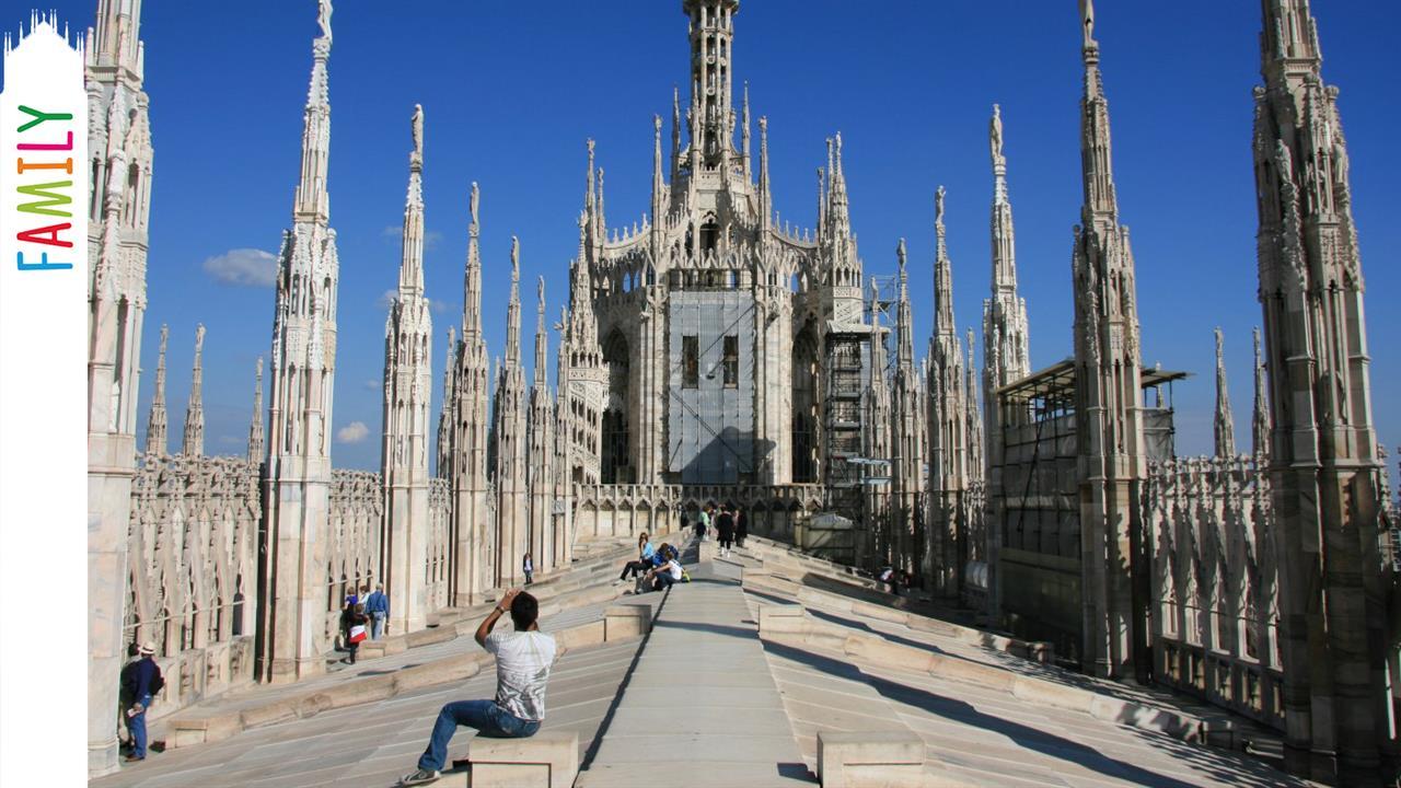 Visita guidata per famiglie con bambini sulle Terrazze del Duomo di Milano  Museo del Duomo