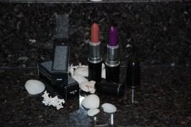 MAC Cosmetics Lipsticks in Naked Bud and Heroine