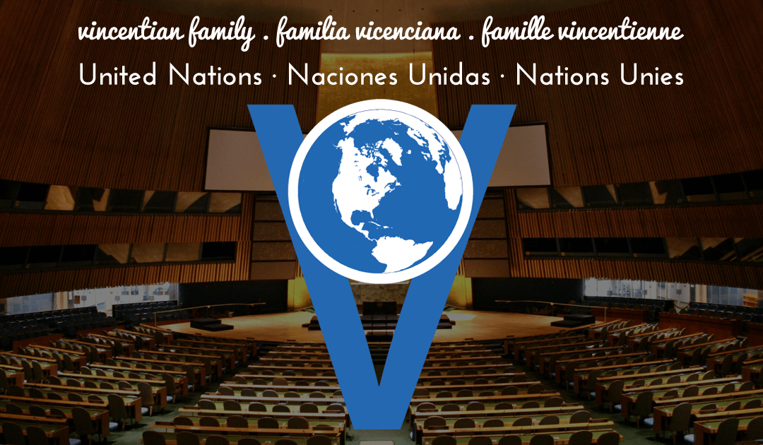 The Vincentian advocacy in the UN