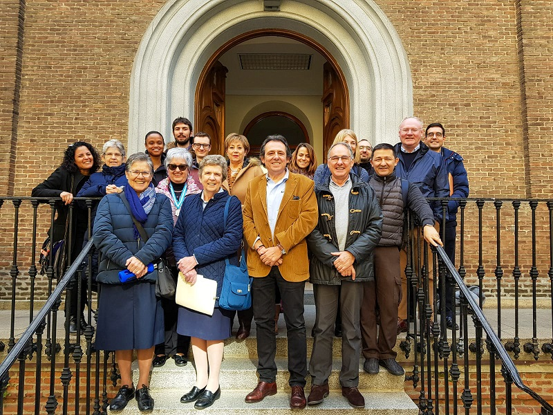 The FHA out to meet the Spanish Vincentian Family
