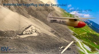 Historischer Segelflug von der Seegrube!