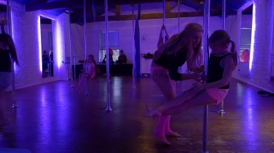 pole fitness sports exercise videographer film-maker Leeds Yorkshire video production