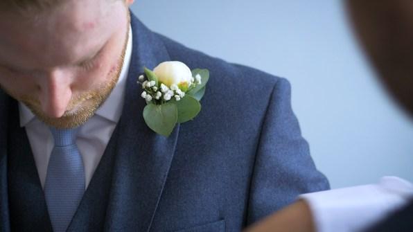 groom party preparations