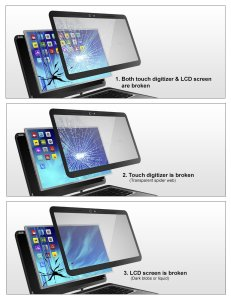 LCD and Touch Screen Replacement Solution Dandenong