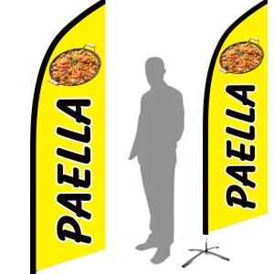 drapeau paella