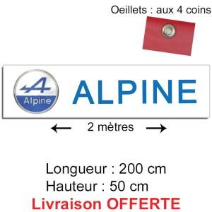 banderole alpine renault