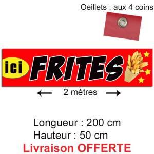 banderole frites