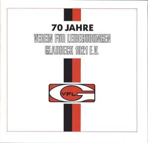 Festzeitschrift 70 Jahre Cover