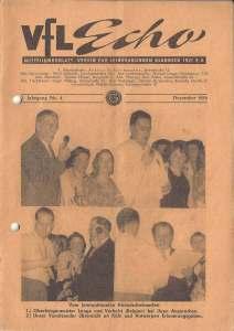 VfL-Echo Dezember 1956 Cover