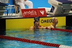 100 m Schmetterling, Frauen - A-Finale