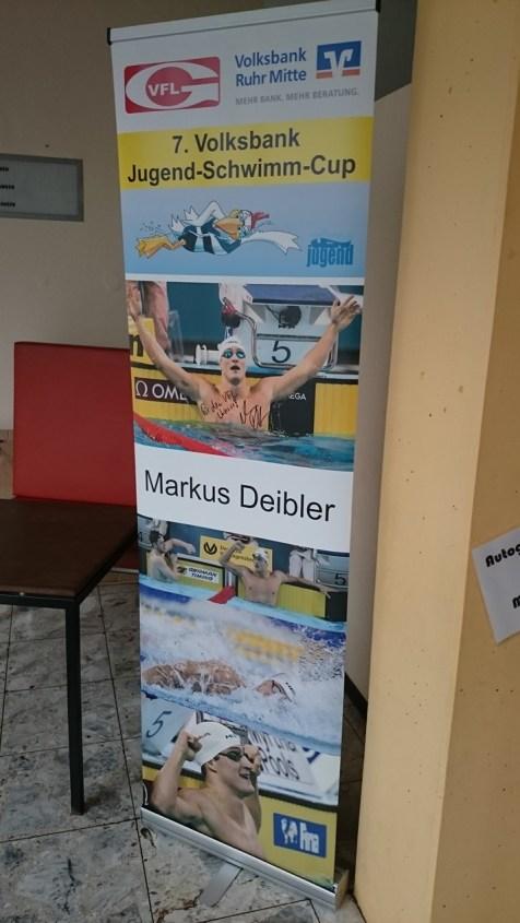 Volksbank-Jugendschwimmcup - Startgast ist Markus Deibler