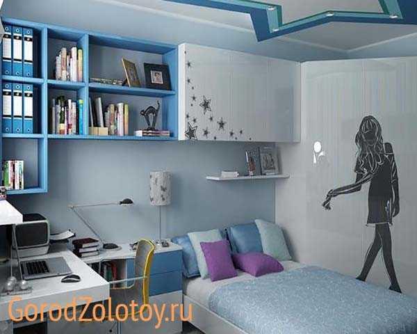 дизайн комнаты для двух девочек подростков в современном стиле 7