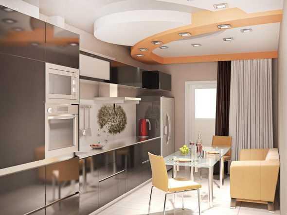 дизайн комнаты 9 кв м в современном стиле фото с диваном 3