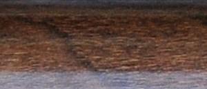 Quarter Round Laminate Molding - Walnut-0